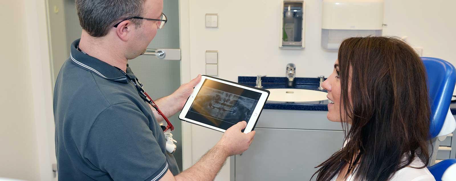 Prophylaxe in der Zahnarztpraxis Dominik Meling