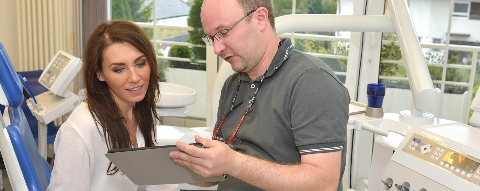 Zertifizierungen Zahnarzt Dominik Meling